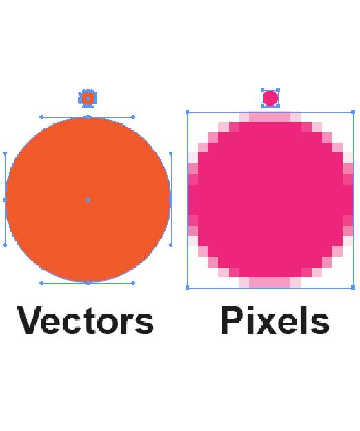 pixels vector lasersnijden