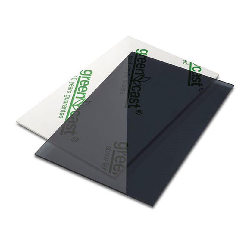 grijs plexiglas
